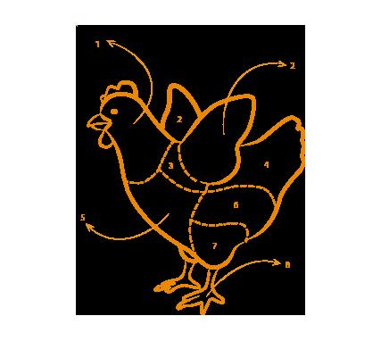 tagli pollame